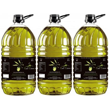 Caja 15 litros (3 garrafas de 5 litros).